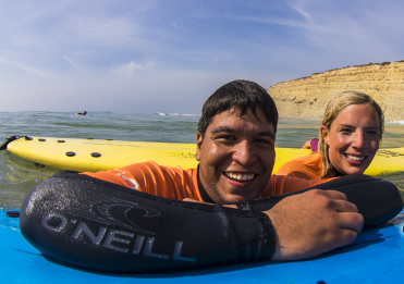 Introductie surfles Portugal surfvakantie